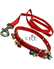 VRCT Nylon Puppy Dog Collar Belt and Leash (Extra Small)