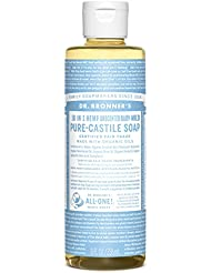 Dr. Bronner's Aloe Baby Castile Soap Made with Organic Ingredients 236 ml