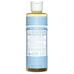 414zLvRSsKL. SS300  - Dr. Bronner's Aloe Baby Castile Soap Made with Organic Ingredients 237 ml