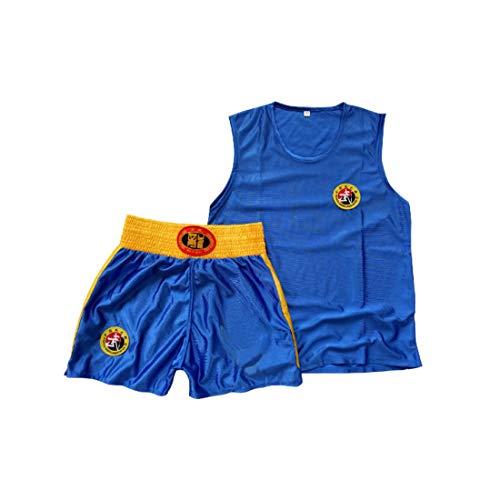 Inlefen Kinder Sanda Kleidung Jungen & Mädchen Erwachsene Boxen Set Boxing Shorts Muay Thai Kleidung Kampfsporttraining tragen Sportbekleidung