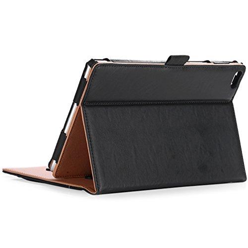 "ProCase Lenovo Tab 4 8 Hülle - Stand Folio Hülle Schutzhülle für Lenovo Tab 4 8\"" Android Tablet 2017 Release TB-8504/ZA2B0040DE -Schwarz"