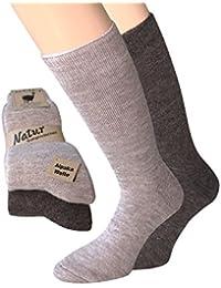6 Paar Damen Socken Strümpfe Business Wintersocken  Angorasocken Warm  Thermo