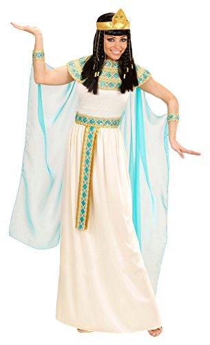 Widmann 49424 Erwachsenenkostüm Cleopatra, Kleid mit Gürtel, Armbänder, Stirnband und (Kostüme White Cleopatra)
