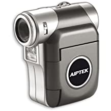Aiptek PocketDV T100LE Camcorder (SD Kartenslots, 4-fach digitaler Zoom, 3,8 cm Display, USB 2.0) pink