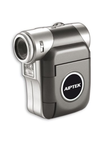 Aiptek PocketDV T100LE Camcorder (SD Kartenslots, 4-fach digitaler Zoom, 3,8 cm Display, USB 2.0) pink