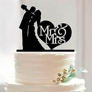 Personalized wedding cake topper acrylic cake stand for Amazon wedding decorations