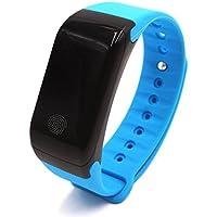 273241c35e5e Bracelet intelligent GLOBAL conçu avec casque Bluetooth  Bracelet sport  avec moniteur de température, moniteur de fréquence cardiaque, haut-parleur  hi-fi, ...
