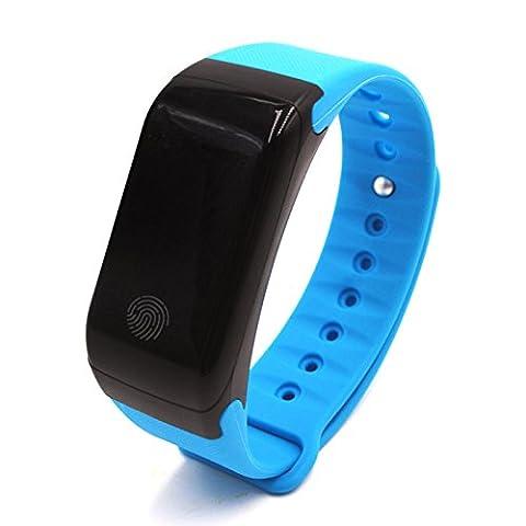 Bracelet intelligent GLOBAL conçu avec casque Bluetooth; Bracelet sport avec