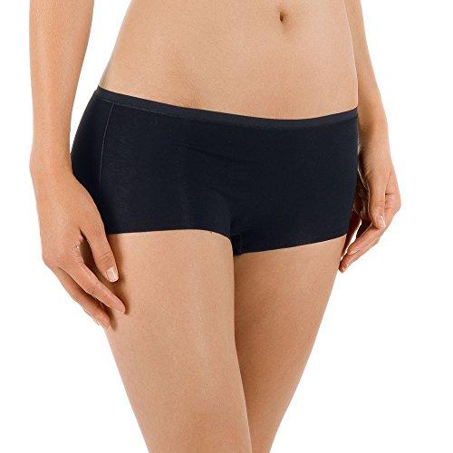 Comfort Hipster Panty (Calida Damen Panty Comfort Panties, schwarz 992, 42 (Herstellergröße: S = 40/42))