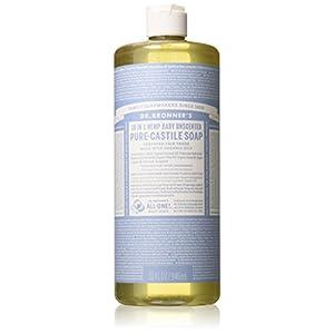 414zPB22GhL. SS300  - Dr Bronner'S   Baby Castile Liquid Soap   1 x 946ml