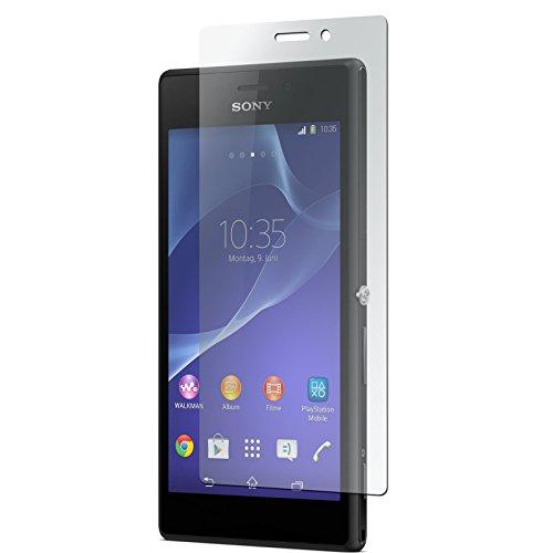 PhoneNatic 4er-Pack Bildschirmschutzfolien klar kompatibel mit Sony Xperia M2
