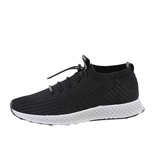 Baskets FantaisieZ Chaussures de Sport d Eté pour Hommes Chaussures de  Course en Maille Respirante 124063708871