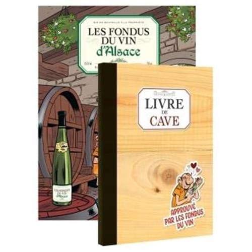 Les fondus du vin : Alsace + livre de cave offert