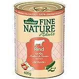 Dehner Fine Nature Hundefutter Adult, Rind, Probiergröße, 400 g