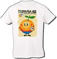 MERCHANDMANIA Camiseta A3 Naranjito ESPAÑA Mascota Mundial Tshirt