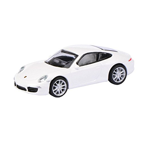 Schuco 452620900 - Porsche 911 Carrera, Maßstab 1:87, weiß