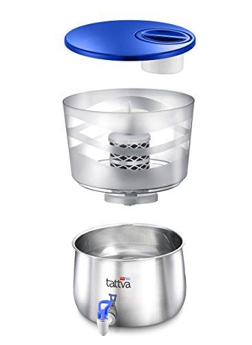 28% off on ttk prestige tattva 1.0 steel 16-liter water purifier ...