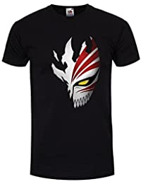 Men's Inspired By Anime Bleach Anime Mask T-shirt Black