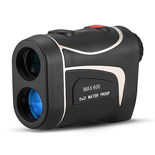 Lixada Telemetro Laser da Golf 600M Range di PrecisioneAngolo del Misuratore di Distanza di Ingrandimento 6X Misuratore di Altezza per Caccia Cavallo Corse