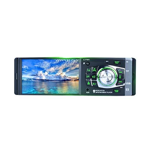 Aiming LCD 12V 1 DIN Car Video Stereo MP3 MP5 Player FM Radio Bluetooth USB 4.1 Pollici con Telecamera Posteriore e remoto