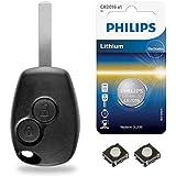 Boitier Clé Plip Coque de Télécommande Dacia Lodgy Duster Logan Dokker Sandero - Kit iRace Keys®