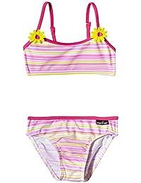 Elemar Bikini - Bañador de dos piezas para niña, color rosa, talla 98 cm
