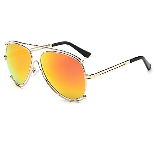 O-C Damen Sonnenbrille Orange C2