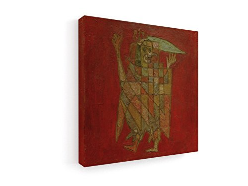 sche Figur - 1927 - 60x60 cm - Leinwandbild auf Keilrahmen - Wand-Bild - Kunst, Gemälde, Foto, Bild auf Leinwand - Alte Meister / Museum (Männliche Harlekin Kostüme)