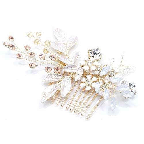 Noradtjcca Hübsche Braut Blume Strass Schmetterling Stirnband Haarband Zubehör Haarband Haarschmuck