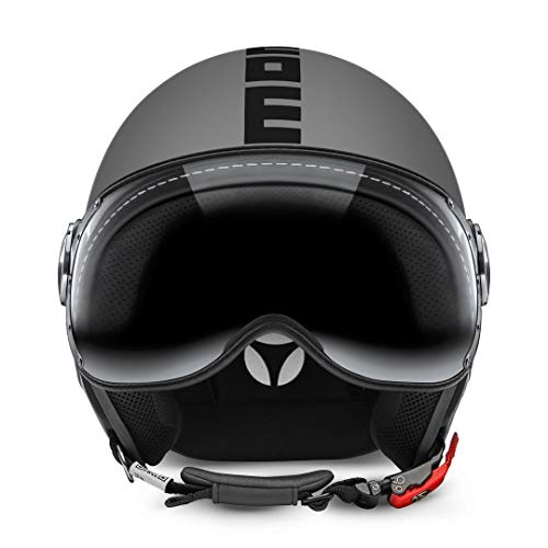 Momo CASCO CLS GREY MATT/BLACK M