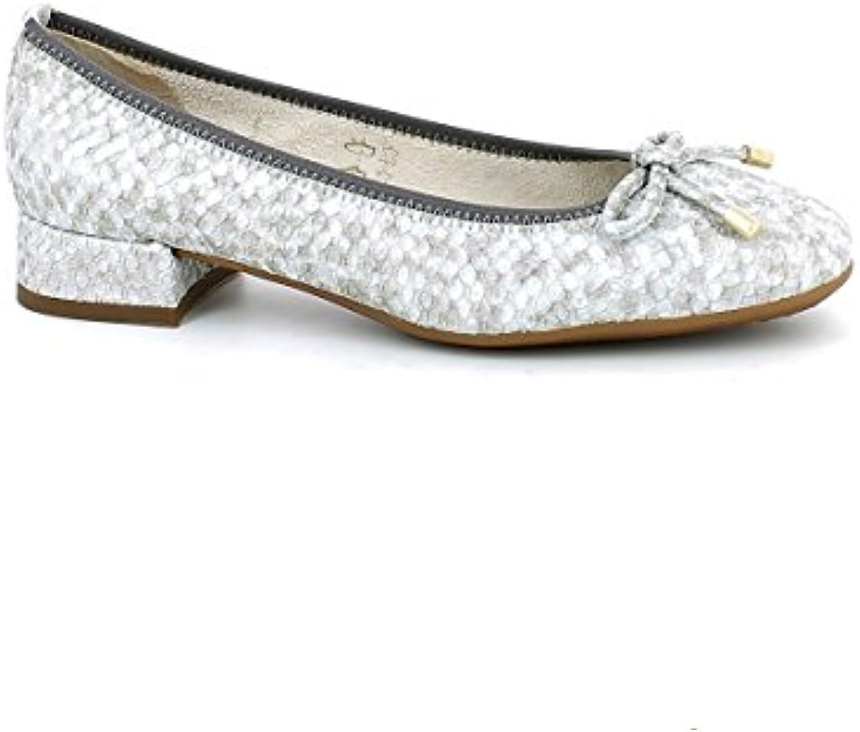 The Flexx B252/12 Gold Scarpa Donna Ballerina con Tacco Pelle