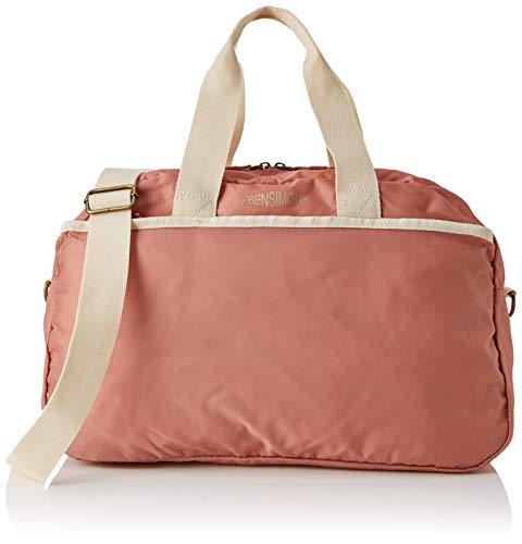 Bensimon - Sport Bag, Mujer, Rosa (Bois De Rose), 12x28x45 cm (W x H L)