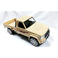 Remote Controlled Toyota Pickup, Brown
