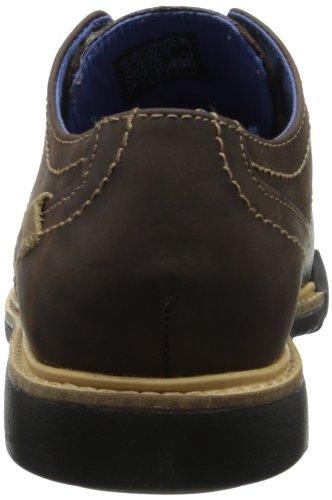 Skechers Malling, Chaussures Lacées Homme Marron (Dkbr Marron Foncée)