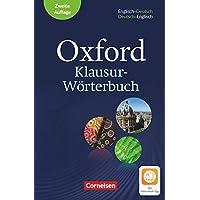 Oxford Klausur-Wörterbuch - Ausgabe 2018 - B1-C1: Wörterbuch Englisch-Deutsch/Deutsch-Englisch - Mit Aktivierungscode…