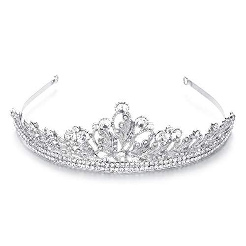 TuToy Hochzeit Prom Pageant Crown Stirnband Schmuck Crystal Strass Tiara Bridal