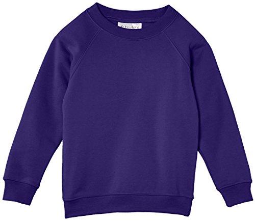 Trutex Limited Unisex, Sweatshirt, 260G Crew Neck Violett