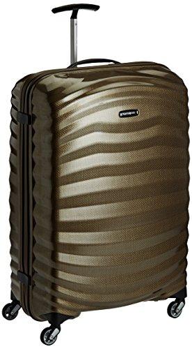 Samsonite - Lite-Shock - Spinner 75/28, 75 cm, 98.5 L, Braun (sand) - Samsonite 4 Rad
