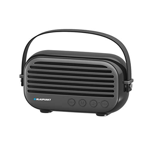 Blaupunkt BLP3350.133 Altavoz Portatil Bluetooth Radio Retro, 10W, FM, Micro SD, FM,...