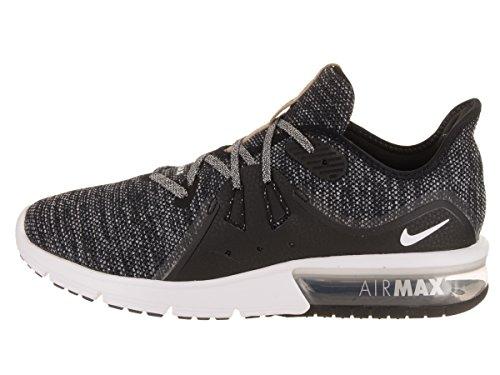 Nike Herren Air Max Sequent 3 Laufschuhe Mehrfarbig (Black/white-dark Grey 011)