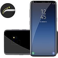 Samsung Galaxy S9 3D Panzerglas in klar LIAMOO® / Schutzglas für Hüllen geeignet / klares dünnes Glas / Displayschutzfolie / Panzerglasfolie