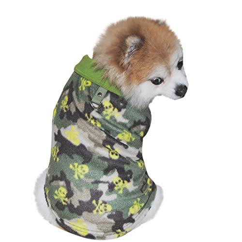 Amphia - Fleece-Reversweste für Hunde,Haustier-Hundekatze Villus warme Weste-Welpen-Hündchenkleid-Kleidung