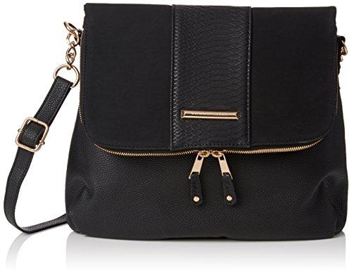 dorothy-perkins-womens-snake-panel-cross-body-bag-black-black