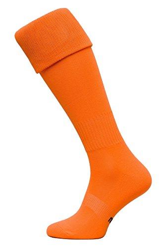 medias-de-futbol-modelo-g-calcetines-100-transpirables-muchos-colores-color-naranja-tamano-42-44