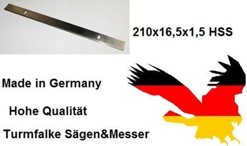 Preisvergleich Produktbild Zipper ZI-HB204 Abricht & Dickenhobel Hobelmesser (6 Stück) 210x16,5x1,5mm