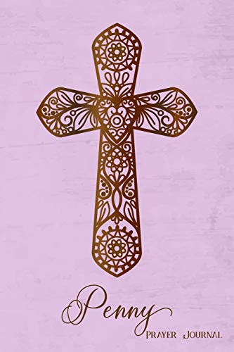 Prayer Journal, Penny: Personalized 370-page, 6-month Prayer Journal with 2 pages per Day (Penny Gebete)