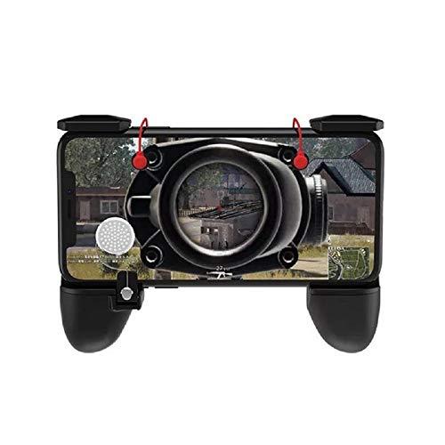 YAzNdom ASDQ 3 in 1 Gamepad, Feuerknopf Zieltaste Smartphone-Trigger, R1 L1 Shooter Gampads für Smartphone