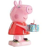 Dekora 346089 - Vela con diseño Peppa Pig, 7,5 cm