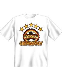 Football: Soccer Gemany–T-Shirt–Textiles