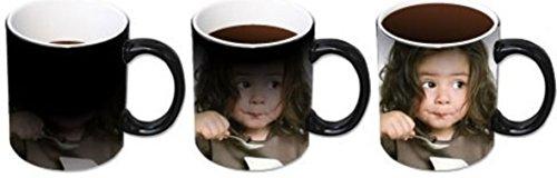 Mug magique, mug avec photo, tasse, tasse avec de la publicité, impression personnalisable, prénom, photo, motif, texte avec sa propre image, mit Geschenkkarton